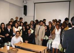 دانشجویان دانشگاه اوسینا مجارستان